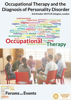 Occupational Therapy and  the Diagnosis of Personality Disorder